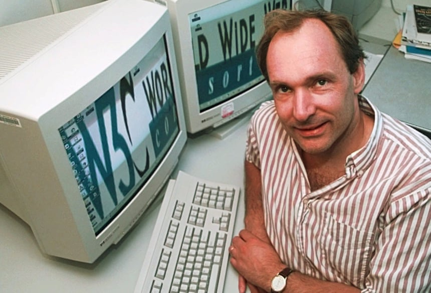 Tim Berners-Lee on 30 years of the world wide web